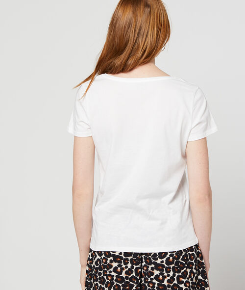 """T-shirt """"Love"""" brodé 100% coton"""