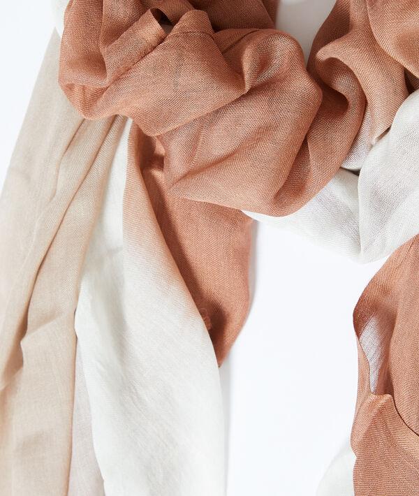 Foulard imprimé tie and dye