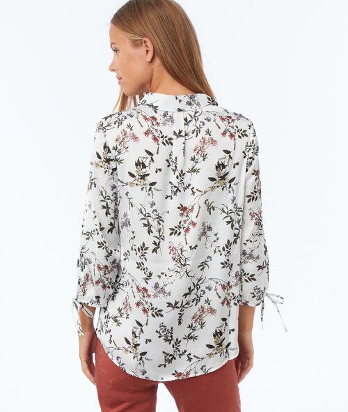 Chemise à imprimé fleuri
