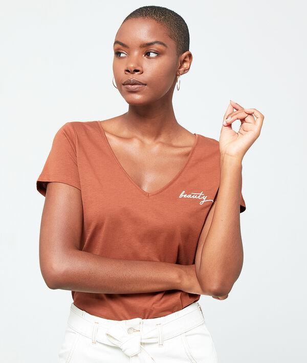 "T-shirt brodé ""Beauty"""