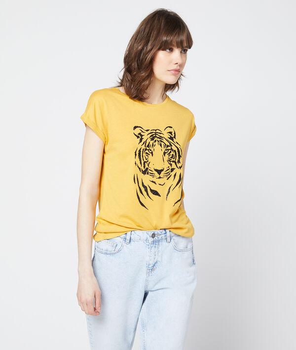 T-shirt sérigraphie tigre