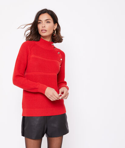 Pull 100% coton grosse maille
