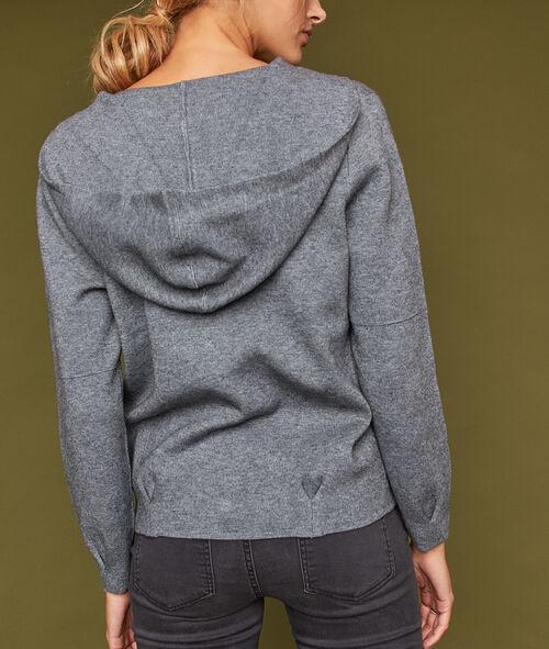 Veste courte à capuche