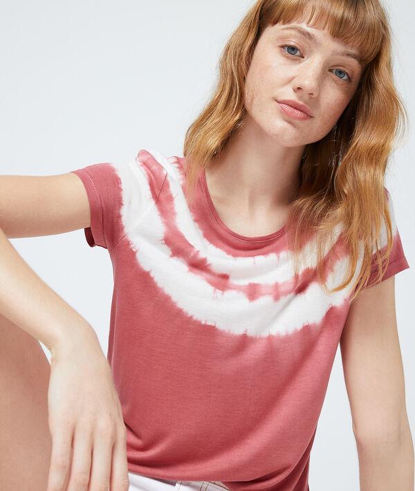T-shirt imprimé tie and dye