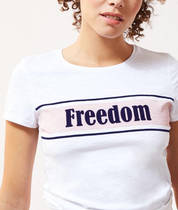 """T-shirt sérigraphie """"Freedom"""""""