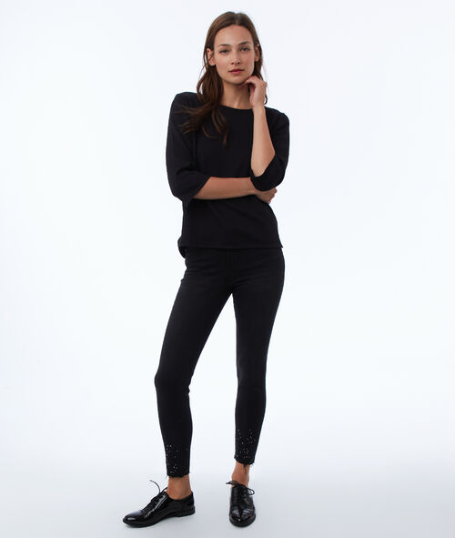 Jean skinny perlé