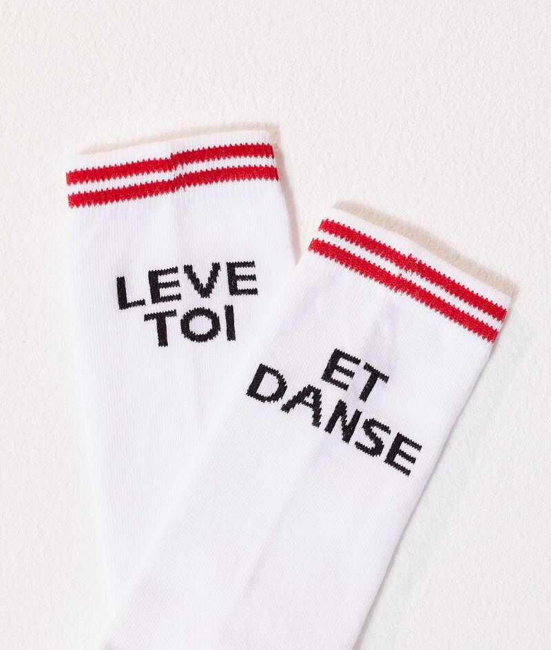 """Chaussettes """"Lève toi Et danse"""""""