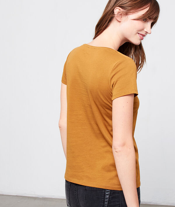 "T-shirt coton bio ""I ♡ my planet"""