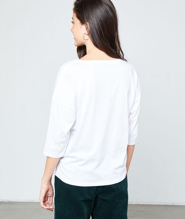 T-shirt sérigraphie en coton bio