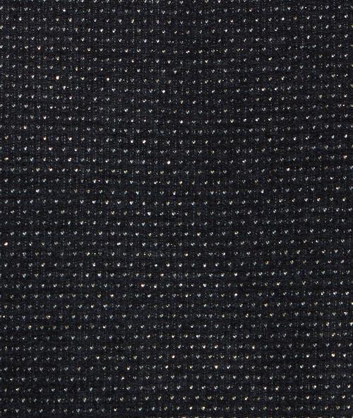 Sweat manches 3/4 à pois en fibres métalisées