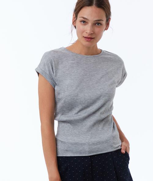 T shirt resserré à la taille