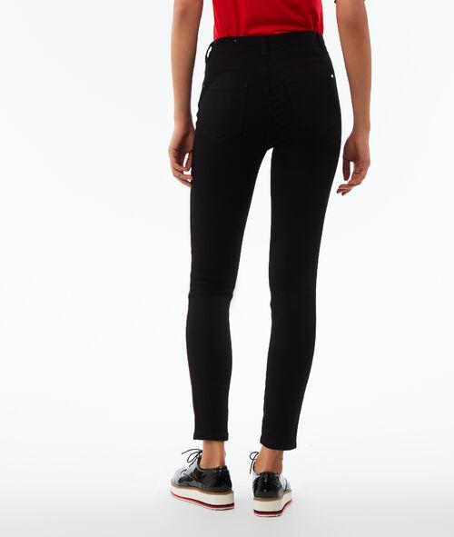 Pantalon skinny avec bande latérale