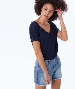 Short en jean stone.
