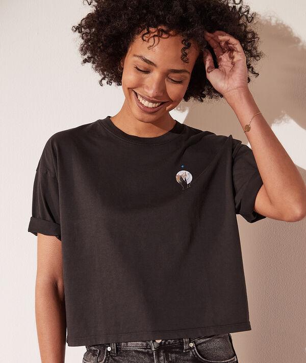 """T-shirt imprimé astral """"Lune"""""""