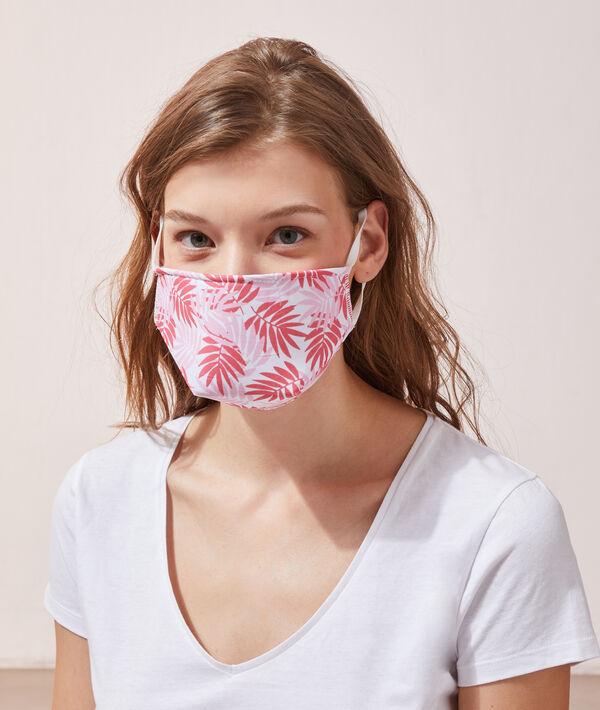 Masque de protection imprimé feuillage - 4€