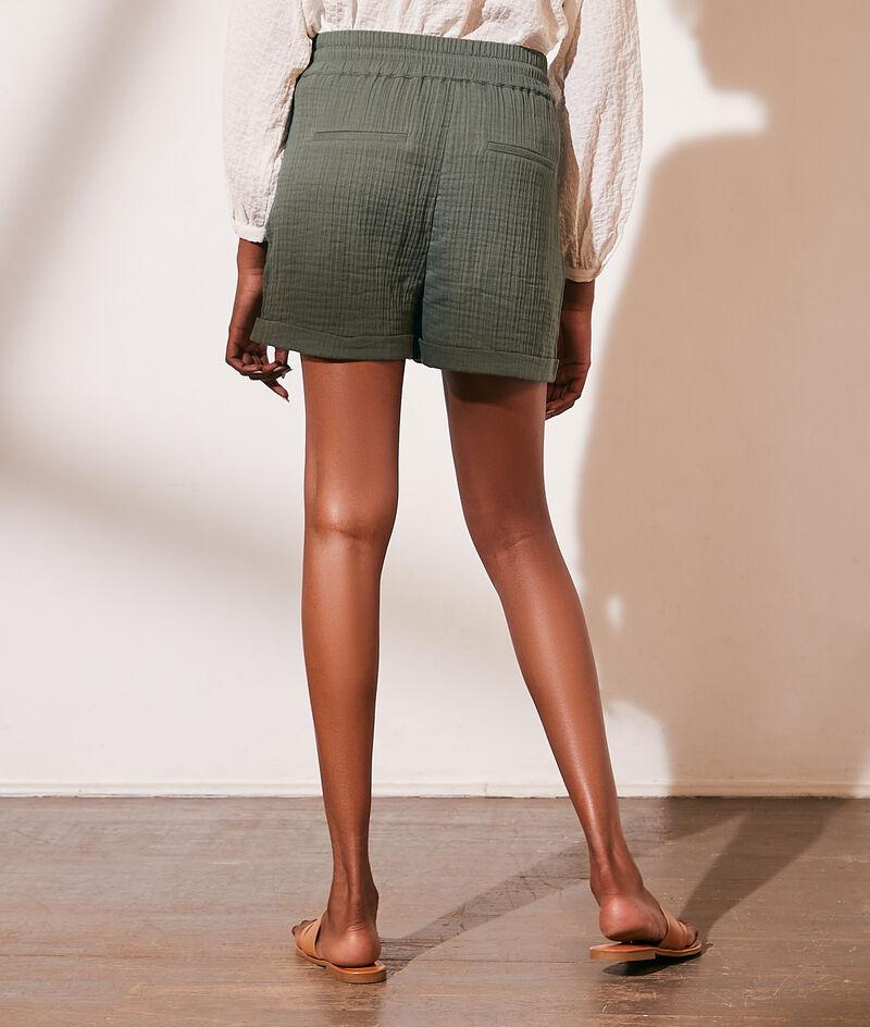 Short en gaze de coton