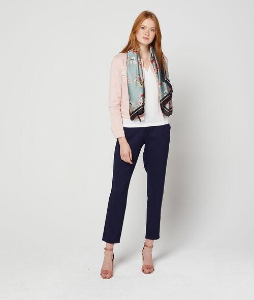 Veste courte en jean