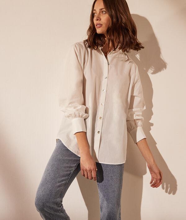 Chemise avec boutons dans le dos