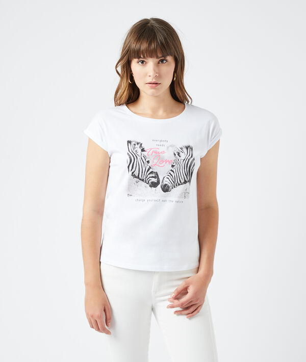 "T-shirt sérigraphie ""True love"""