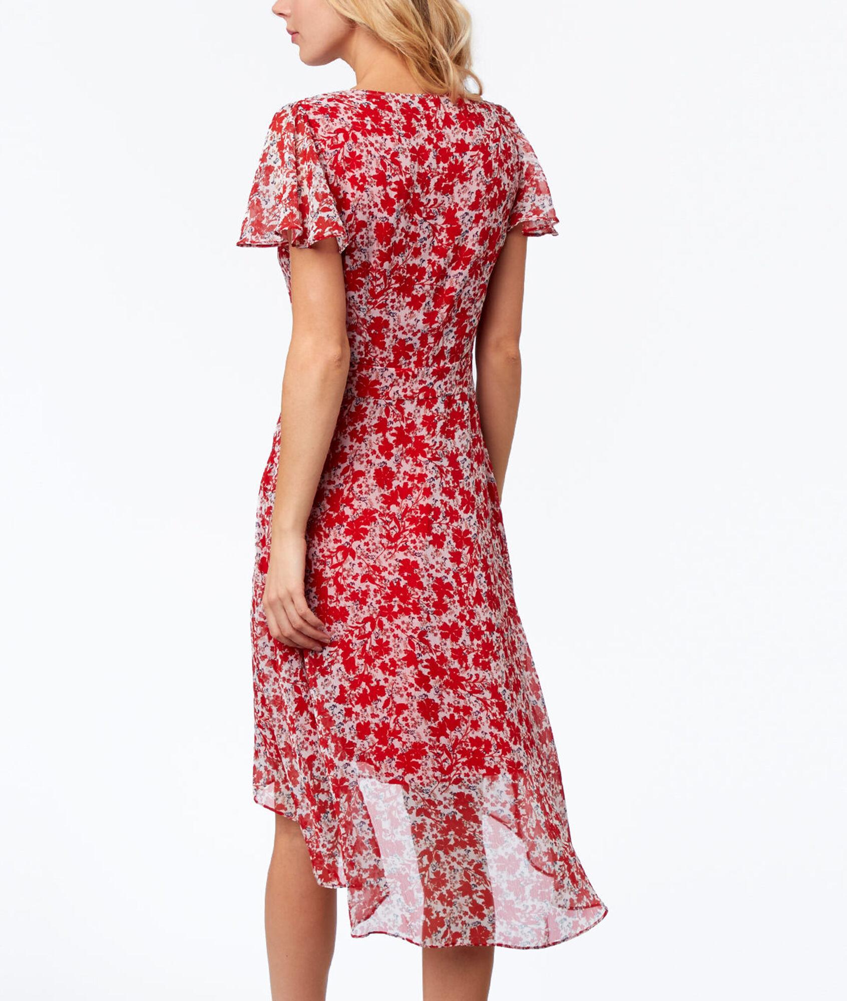 robe imprim e fleurs fleury rouge etam. Black Bedroom Furniture Sets. Home Design Ideas