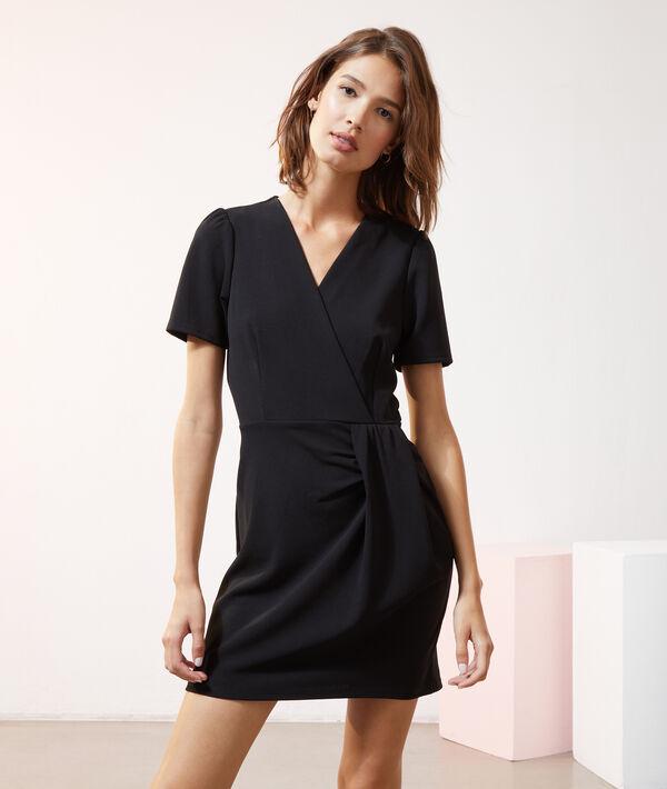 Robe cache-coeur - LADY - 34 - Noir - Femme - Etam