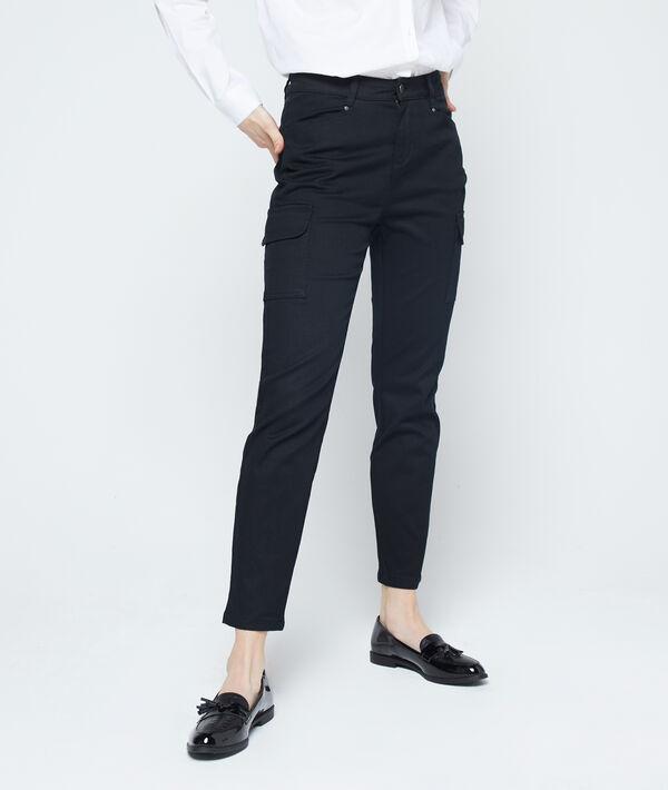 Pantalon slim à poches