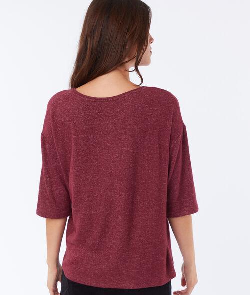 T-shirt à guipure