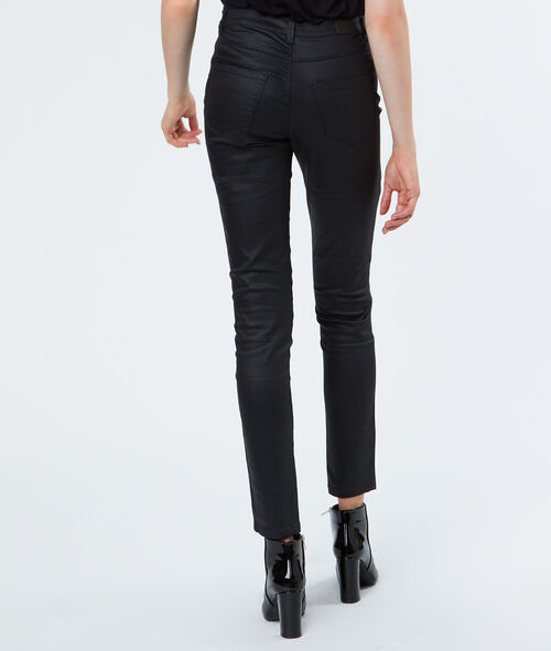 Pantalon slim huilé
