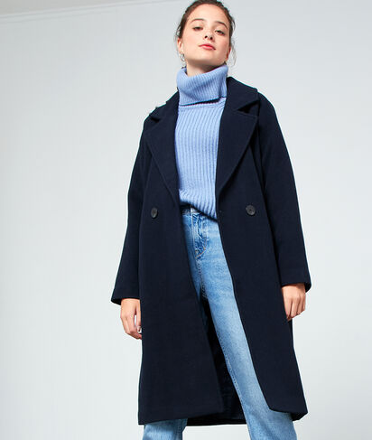 Manteau masculin long