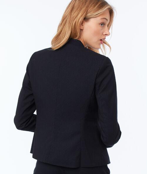 Veste de tailleur texturée