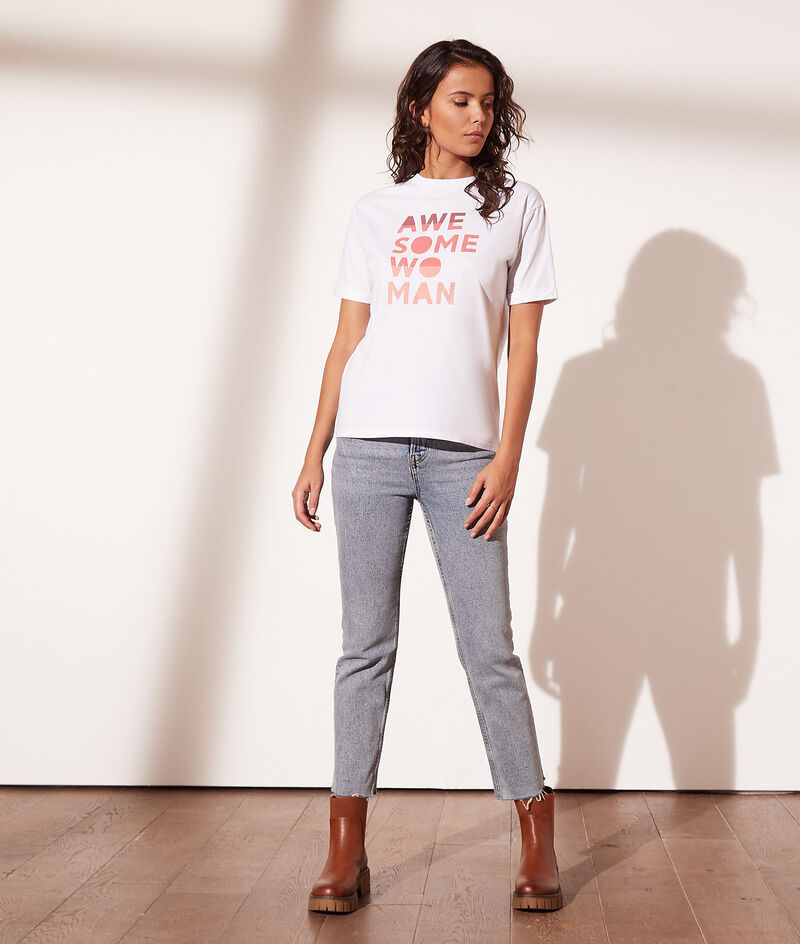 """T-shirt """"Awesome woman"""""""
