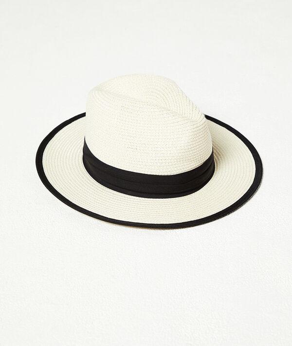 Chapeau bicolore