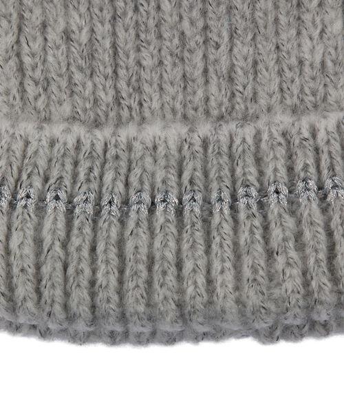 Bonnet à fil métallisé