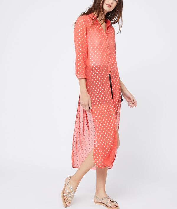 Chemisier long fendu