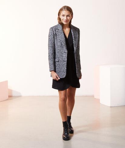 Manteau court forme blazer