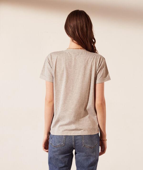 """T-shirt avec perles """"Pfff"""""""