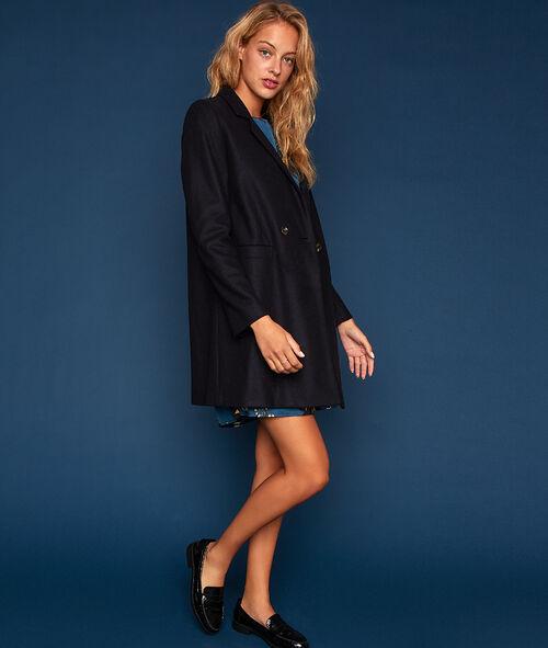 Manteau masculin 70% laine
