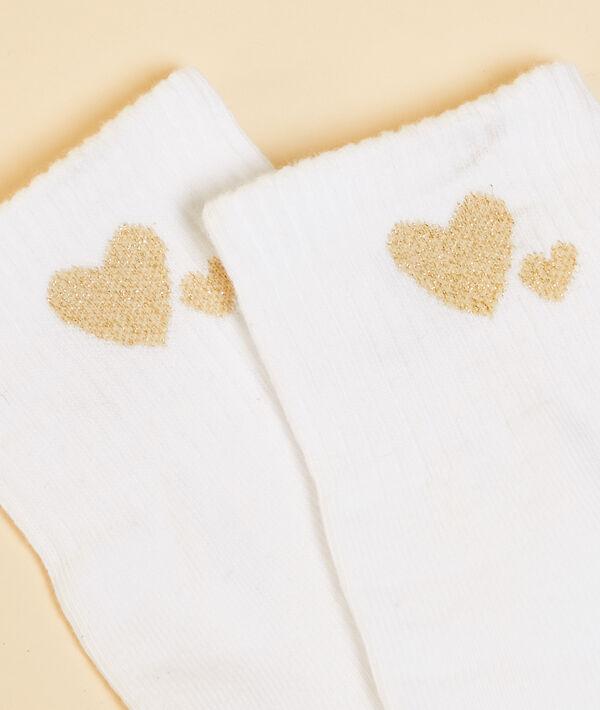 Chaussettes cœurs