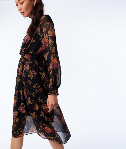 Robe doublée à imprimé floral