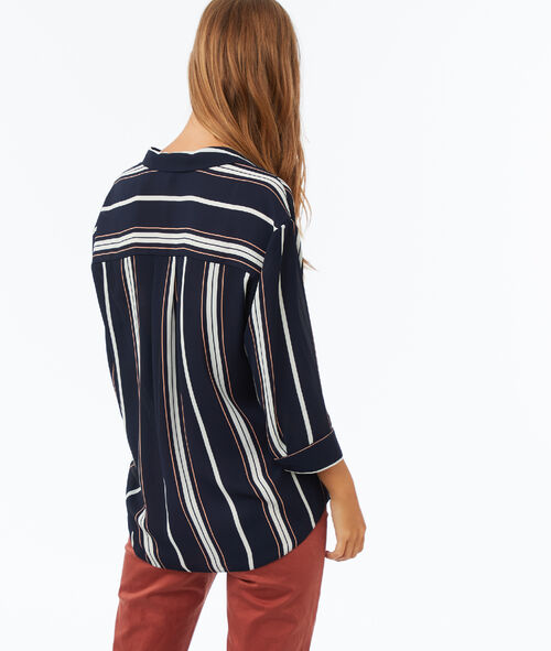 Blouse à rayures