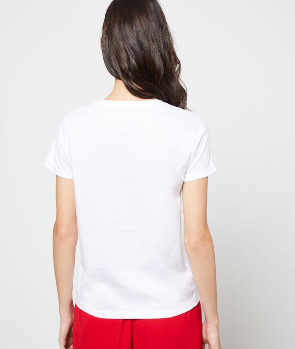 T-shirt brodé