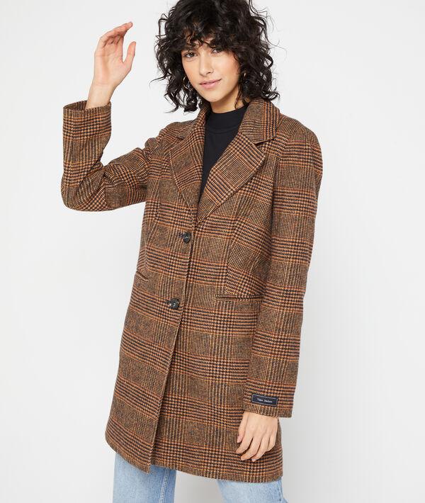 Manteau masculin à motifs Prince de Galles
