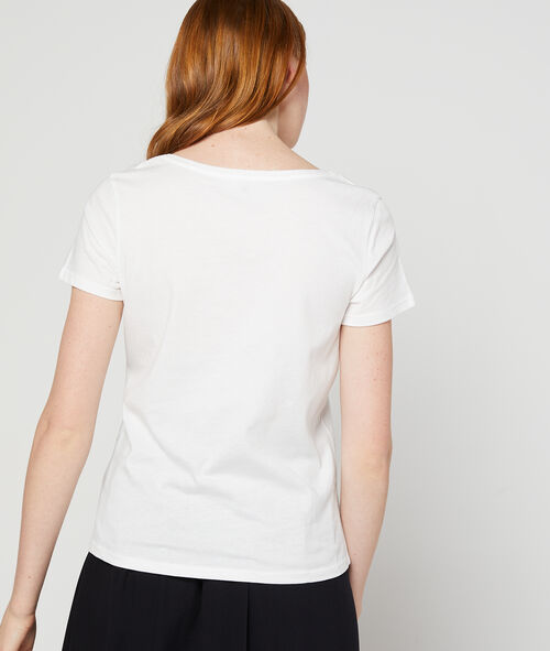"""T-shirt """"So french"""" brodé 100% coton"""