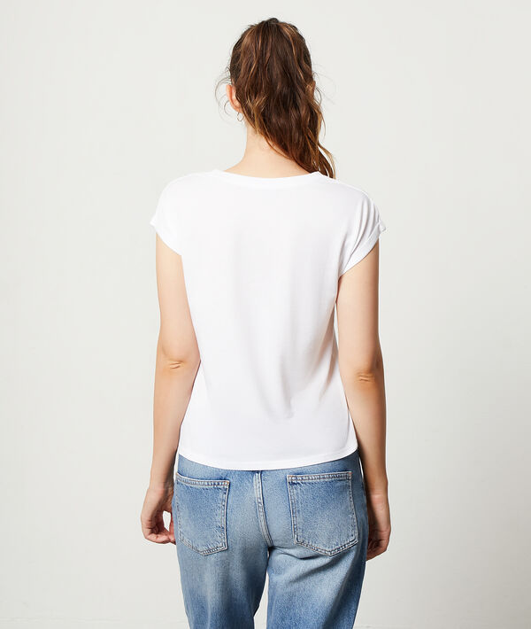 T-shirt sérigraphie panthère