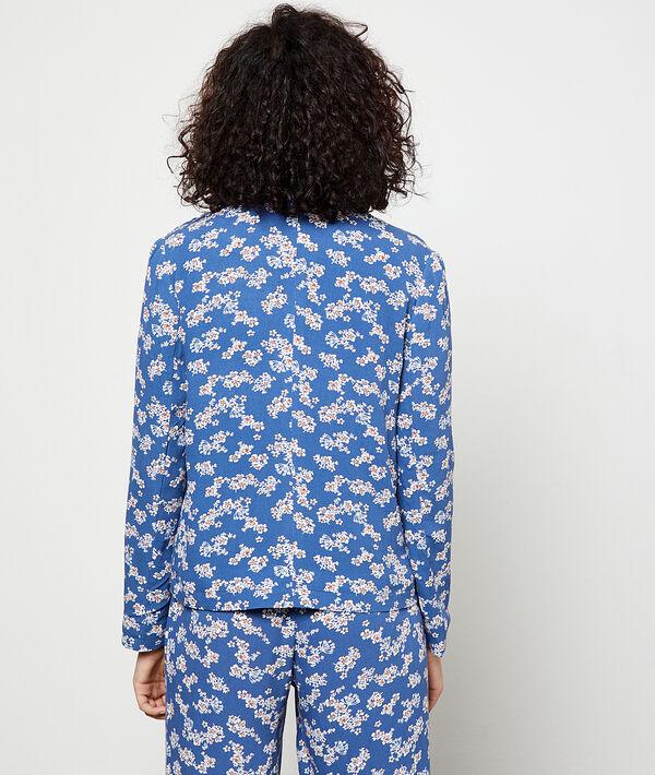 Veste de tailleur imprimé fleuri