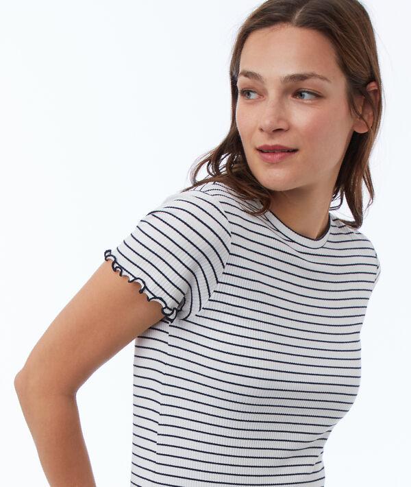 T shirt à rayures