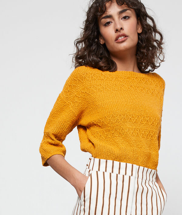 Pull en maille tricot