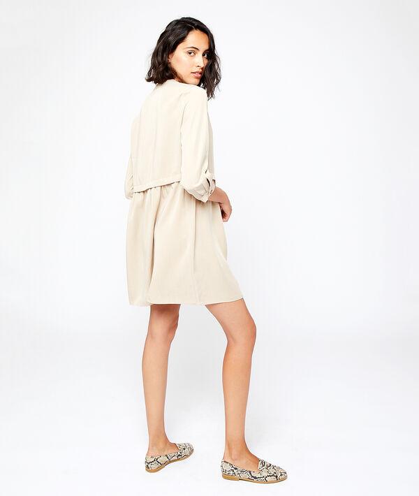 Robe chemise en tencel®