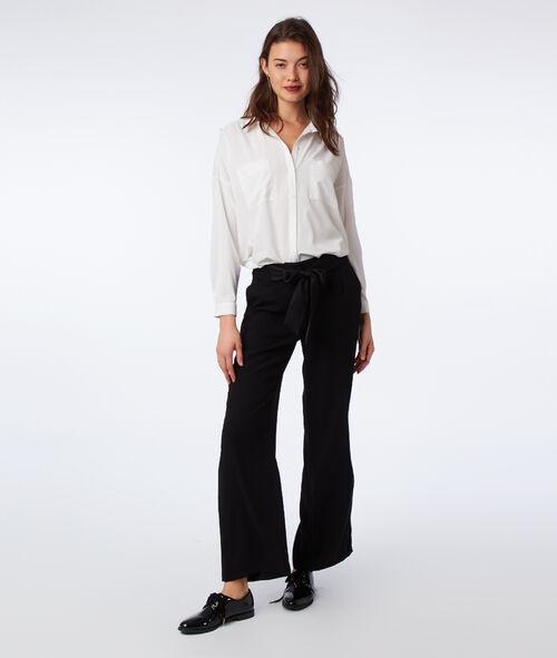 Pantalon large noué