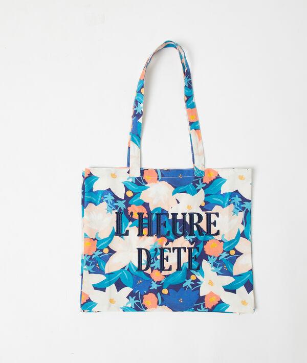 """Tote bag """"L'heure d'été"""""""